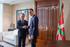 El lehendakari se ha reunido hoy con el secretario general del PSOE, Pedro Sánchez