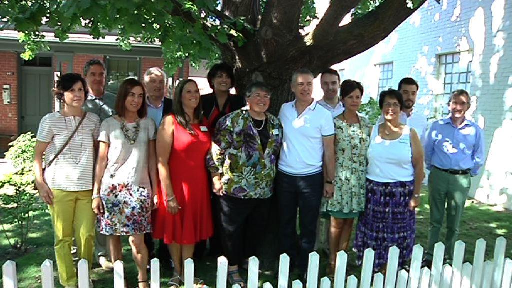 El Gobierno Vasco visita el Basque Block, núcleo de la cultura vasca en Boise [3:01]
