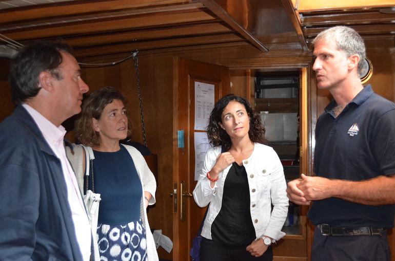 El Gobierno Vasco dispondrá en dos meses de un proyecto de reparación de Portuzarra en Bermeo