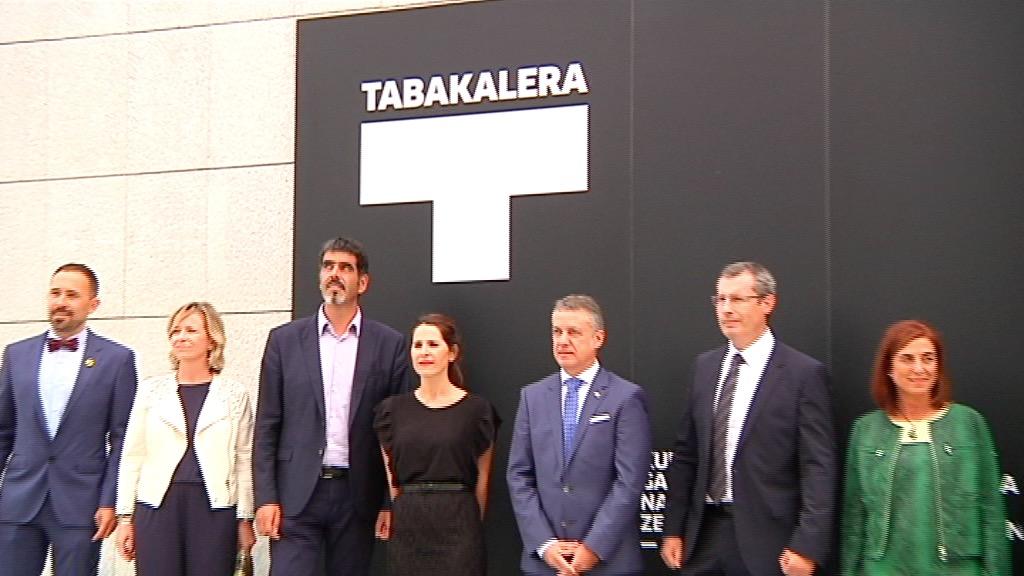El lehendakari preside la apertura institucional de Tabakalera [7:10]