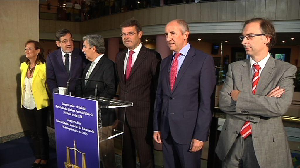 El Gobierno vasco implanta en Barakaldo el modelo organizativo de la NOJ para mejorar la calidad y la eficiencia de la Administración de Justicia  [8:03]