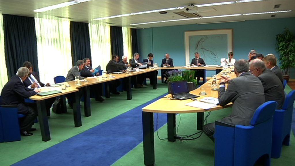 El Consejo vasco de Ciencia, Tecnología e Innovación, presidido por el lehendakari, evalúa la ejecución del Plan de Ciencia y Tecnología 2020 [1:52]