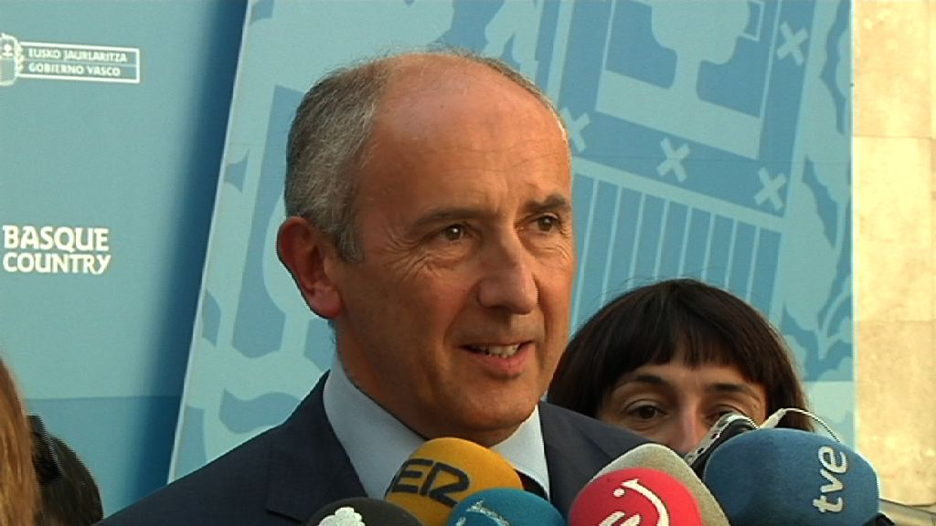 Declaración del Gobierno Vasco ante las detenciones de miembros de ETA [8:09]
