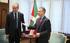 Lehendakariak Belgikako enbaxadorea hartu du Ajuria Enean