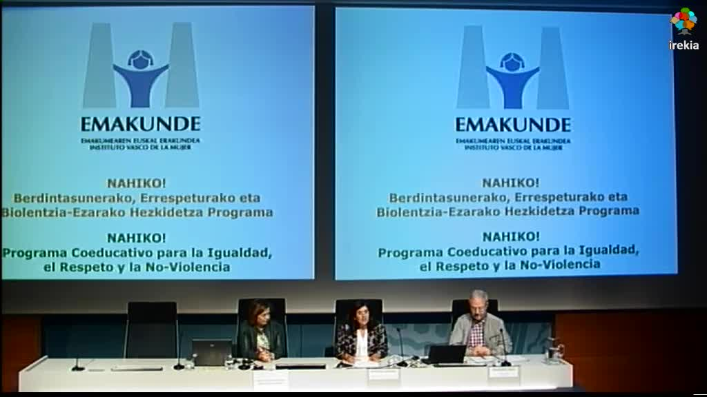 Jornada General del Programa Coeducativo Nahiko  2015-2017 [39:04]