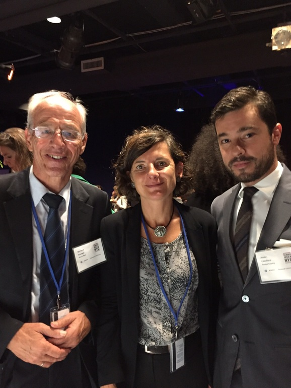 """Ander Caballero: """"New York has shown that the direct management of countries and regions is essential in preventing and adapting to climate change and for sustainable development of the Planet"""""""