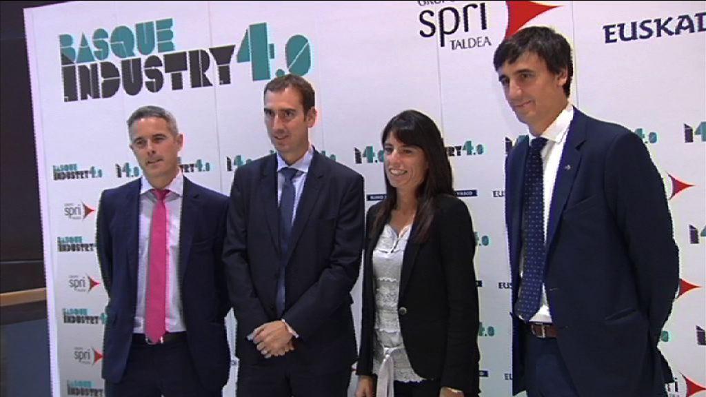 La segunda edición del Basque Industry 4.0 permite al Gobierno Vasco consolidar un punto de encuentro en torno a la cuarta revolución industrial  [14:58]