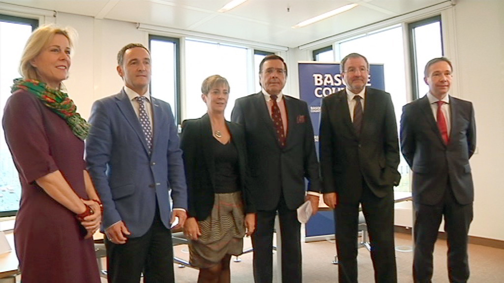 Euskadi se ofrece en Alemania como un territorio atractivo donde invertir y estrechar lazos empresariales [3:03]