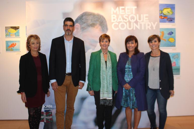 Arantxa Tapia sailburuak «Meet Basque Country» inauguratu du Donostian, mundu osoko bidaia-agentzia handizkariak bilduko dituen Euskadiko merkaturatze turistikoaren ekitaldirik handiena, hain zuzen