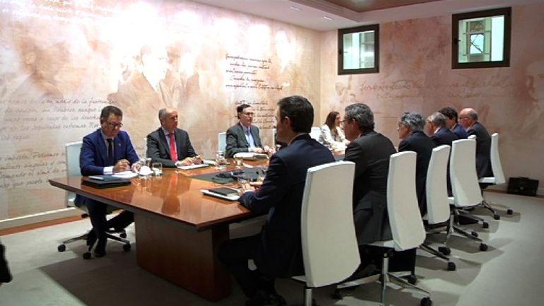 Gobierno Vasco y diputaciones se han reunido en el Consejo Vasco de Finanzas