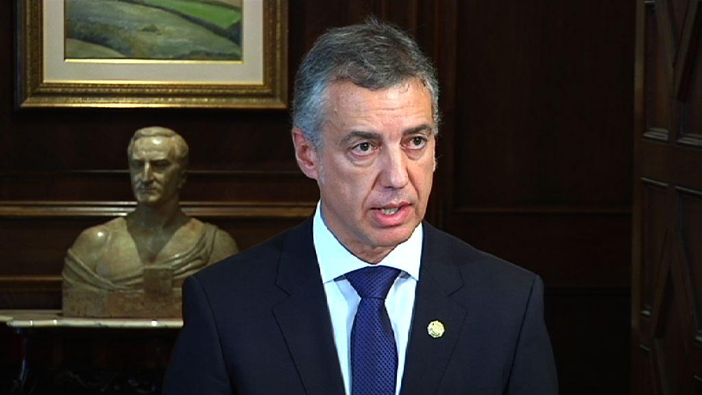 Declaración de las Instituciones Vascas en defensa del Concierto Económico y el Cupo entre Euskadi y el Estado [14:22]