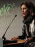 """Ana Oregi: """"la ciudad ofrece permanentemente espacios abiertos a la sostenibilidad"""""""