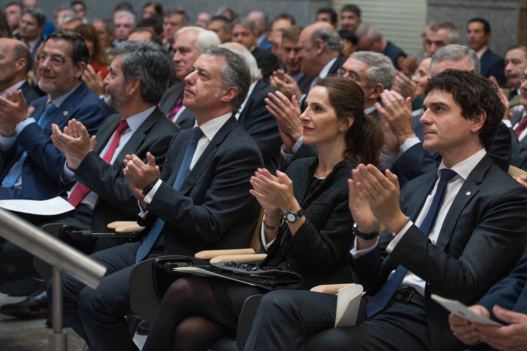El lehendakari asiste en Bilbao al acto de Apertura del Año Judicial [6:59]