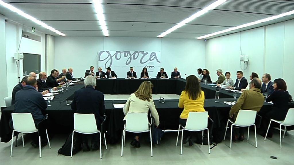 El lehendakari preside la primera reunión del Consejo de Dirección de Gogora [4:55]