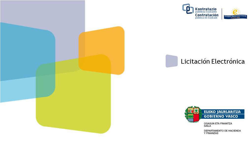 Apertura de Plicas Técnica - C02/001/2015 -Desarrollo de acciones de evaluación, información y comunicación cofinanciadas por el FEDER, para el Programa Operativo FEDER País Vasco 2014-2020.  [12:07]