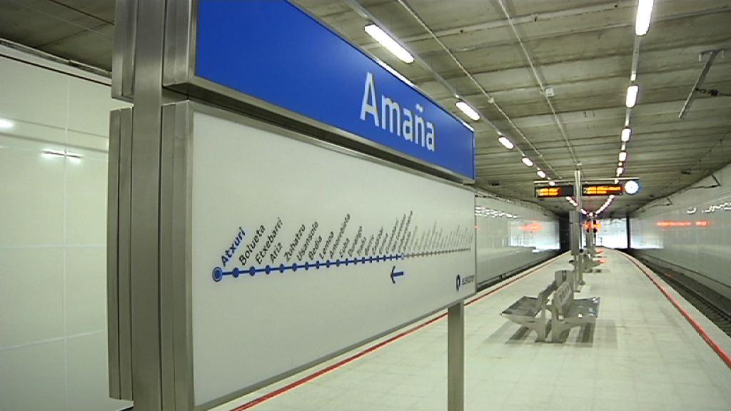 El lehendakari ha visitado las nuevas infraestructuras ferroviarias Amaña-Eibar así como los nuevos espacios urbanos [3:35]