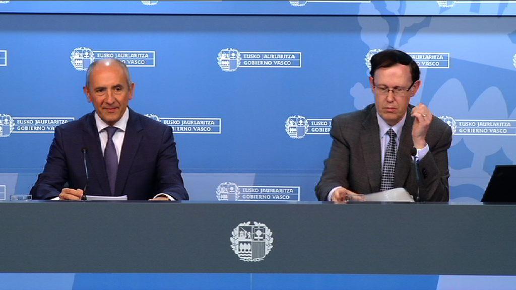 El Gobierno Vasco aprueba el Anteproyecto de Ley de Presupuestos Generales de Euskadi para el ejercicio 2016 [62:57]