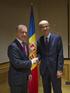 Lehendakaria Andorrako presidentearekin, Antoni Martirekin, bildu da