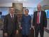 El lehendakari se reúne con la presidenta de Navarra y el presidente de Aquitania para estudiar la incorporación de la Comunidad foral al marco de colaboración eurorregional