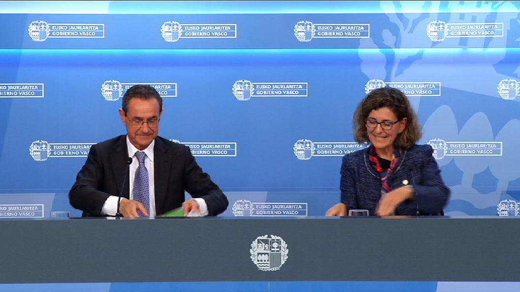 El Gobierno Vasco aprueba el proyecto de Ley de Puertos y Transporte marítimo del País Vasco [38:45]