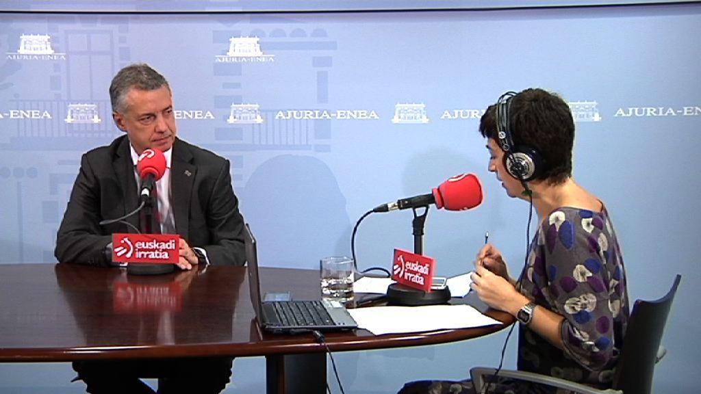 """Urkullu: """"Se abre un tiempo para la negociación y el diálogo en Cataluña"""""""