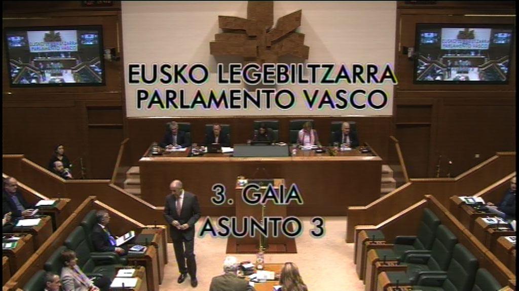 Galdera, Mikel Unzalu Hermosa Euskal Sozialistak taldeko legebiltzarkideak lehendakariari egina, EITB zerbitzu publikoak terrorismoaren deslegitimazioan duen eginkizunari buruz.