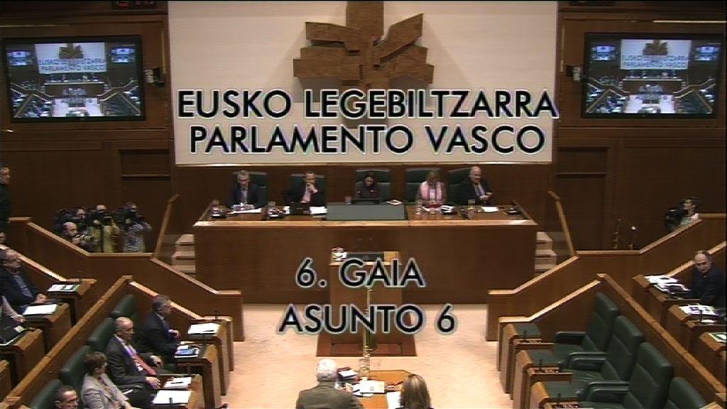 Interpelazioa, Hasier Arraiz Barbadillo EH Bildu taldeko legebiltzarkideak lehendakariari egina, Estatuak Kataluniako Parlamentuaren aurka hartu ditzakeen neurrien aurrean Jaurlaritzak izan beharreko jarrerari buruz