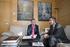 El lehendakari se reúne con el presidente de Cantabria para abordar temas de mutuo interés entre ambas comunidades