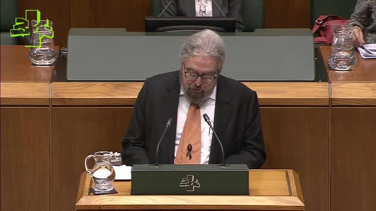 Pleno Ordinario: Informe del Ararteko (19/11/2015)