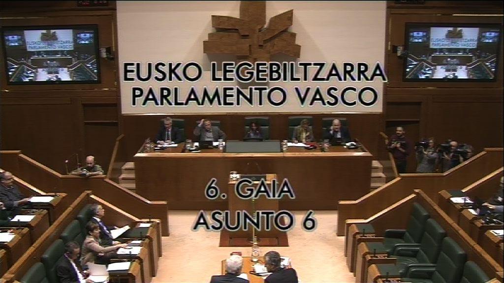 Interpelación formulada por D.ª Nerea Llanos Gómez, parlamentaria del  grupo Popular Vasco, al lehendakari, relativa al pacto antiyihadista.