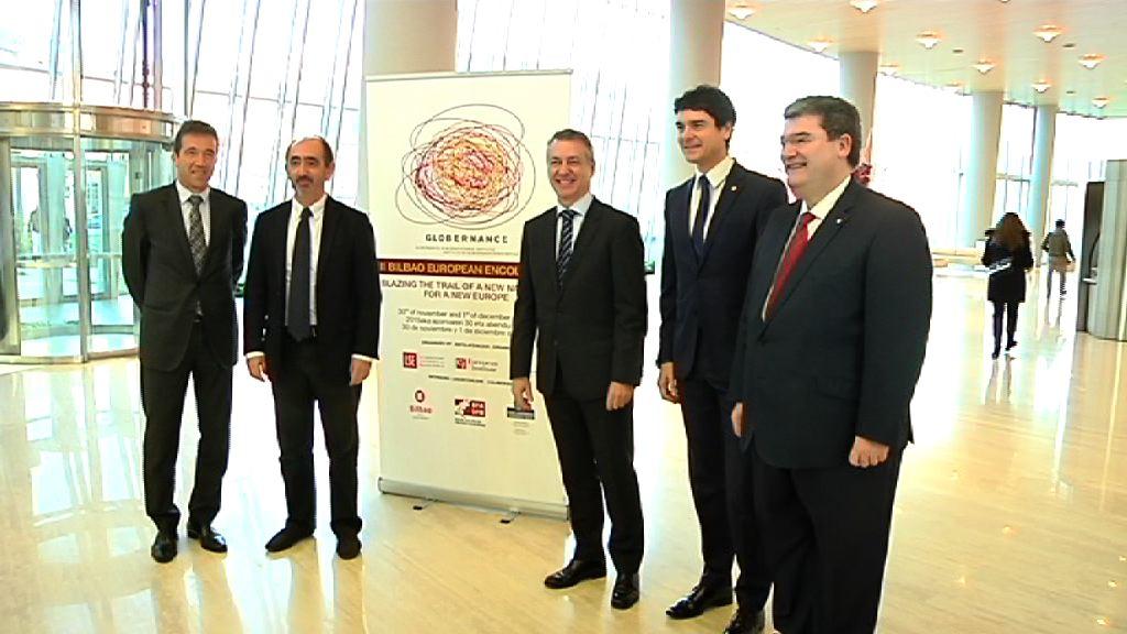 Lehendakariak II Bilbao European Encounters nazioarteko biltzarra ireki du