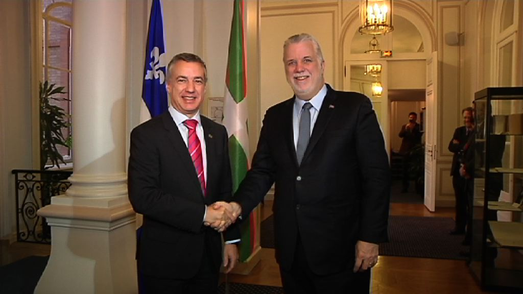 The Basque Country and Quebec agree to open up a cooperation channel for matters relating to the economy, culture, the environment and foreign relations
