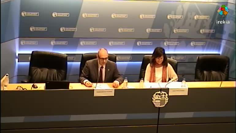 La Consejera de Seguridad inaugura la Jornada Perspectiva de Género en la Policía del País Vasco