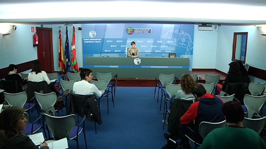 Declaración institucional del Gobierno Vasco ante la Sentencia del Tribunal de la Unión Europea que anula la decisión de la CE del 17 de julio de 2013 que declaraba ilegal el sistema de financiación Tax Lease y por el que solicitaba al sector naval del estado español la devolución de las ayudas recibidas.