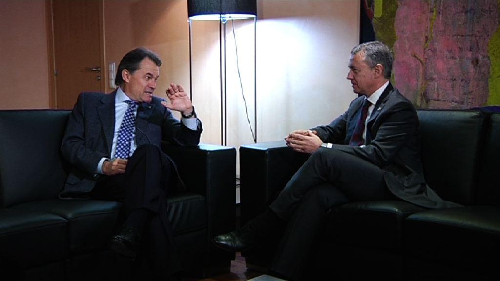Lehendakaria Artur Mas Presidentearekin batzartu da