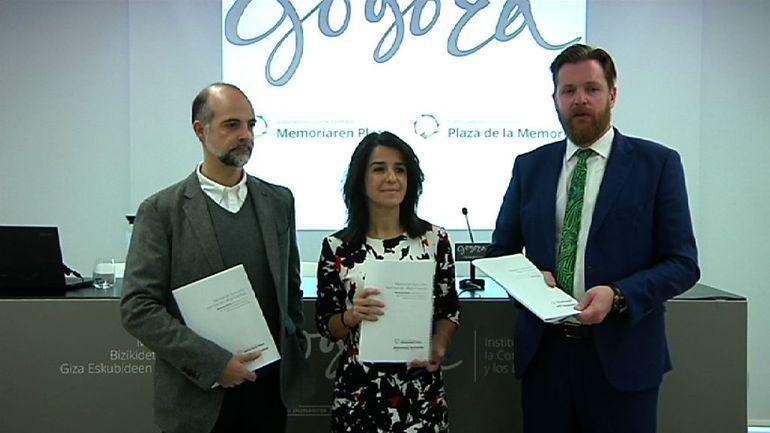 El Gobierno Vasco presenta las conclusiones extraídas de talleres de debate desarrollados en el marco de la iniciativa Memoria Plaza