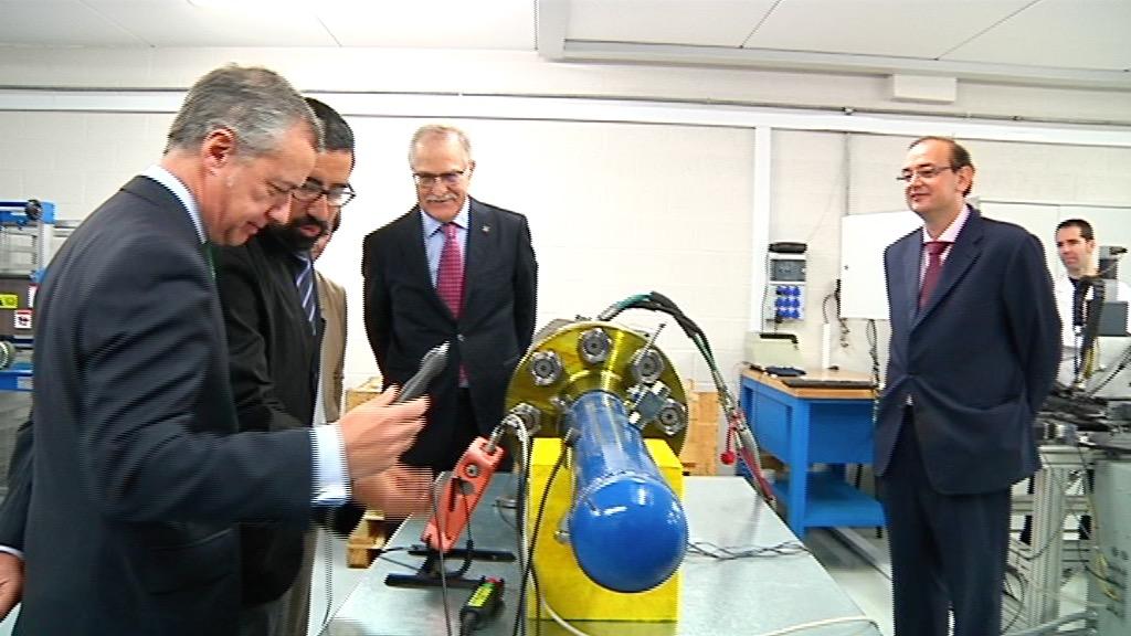 El lehendakari visita la empresa Erreka de Bergara como ejemplo de Basque Industry 4.0