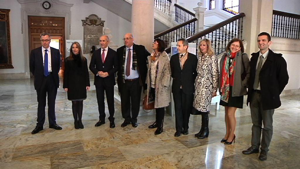 """Josu Erkoreka apuesta por resolver los conflictos de manera pactada y evitar así los procesos judiciales, en el """"Día Europeo de la Mediación"""""""