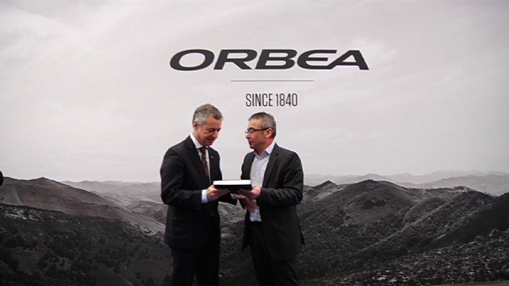 Lehendakaria Orbea enpresa bizikleta-fabrikatzailearen 175. urtemugan izan da