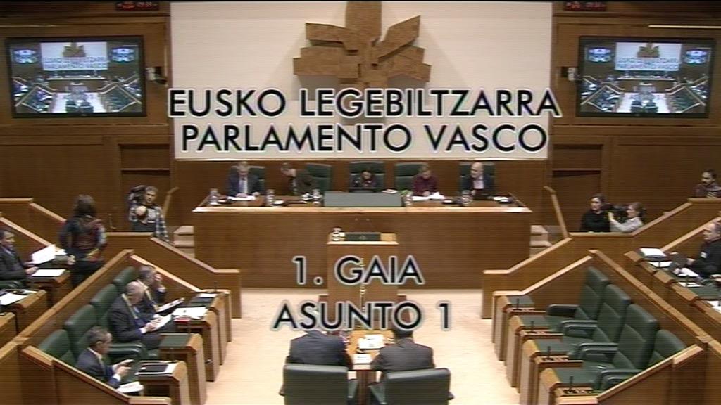 Pregunta formulada por D.ª Miren Josune Gorospe Elezkano, parlamentaria del grupo Nacionalistas Vascos, al lehendakari, relativa a las perspectivas económicas para el ejercicio 2016.