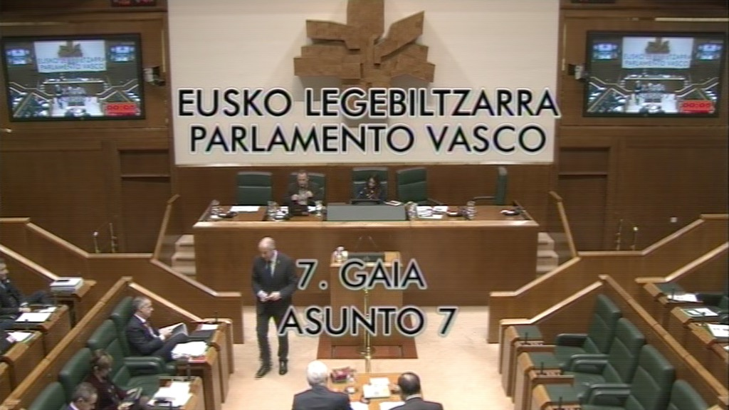 Interpelación formulada por D.ª Nerea Llanos Gómez, parlamentaria del grupo Popular Vasco, al lehendakari, relativa a la consecución del nuevo estatus político.