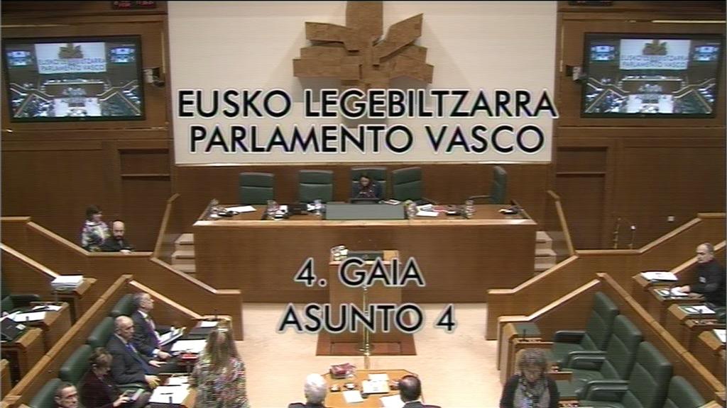 Pregunta formulada por D. Carmelo Barrio Baroja, parlamentario del grupo Popular Vasco, al lehendakari, sobre homenajes a víctimas del terrorismo.