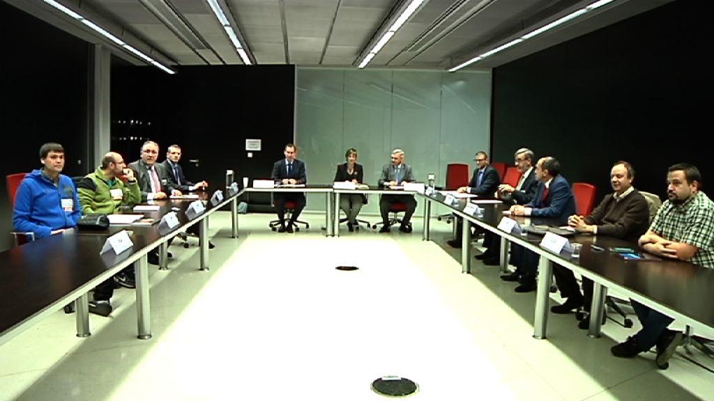 Eusko Jaurlaritza altzairuaren sektorearekin bildu da