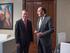 El lehendakari recibe al presidente de Iberdrola