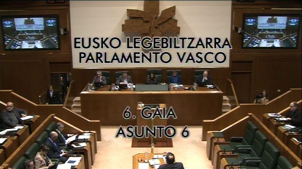 """Interpelación formulada por D. Julen Arzuaga Gumuzio, parlamentario del  grupo EH Bildu, al lehendakari, sobre el cumplimiento en la práctica del """"no""""   dado por este país a la OTAN."""