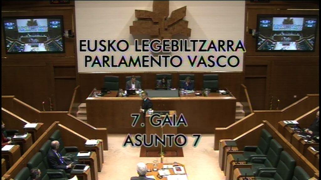 Interpelación formulada por D. Antonio Damborenea Basterrechea,  parlamentario del grupo Popular Vasco, al lehendakari, sobre el sistema de   pensiones.