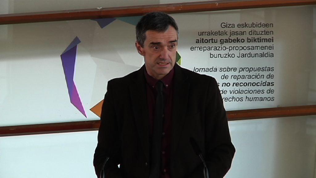 Jornada sobre propuestas de reparación de víctimas no reconocidas de violaciones de derechos humanos