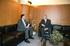 Reunión de los consejeros Ricardo Gatzagaetxebarria y Mikel Aranburu