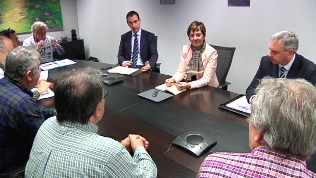 El Gobierno Vasco se reúne con el Comité de Empresa de Arcelor