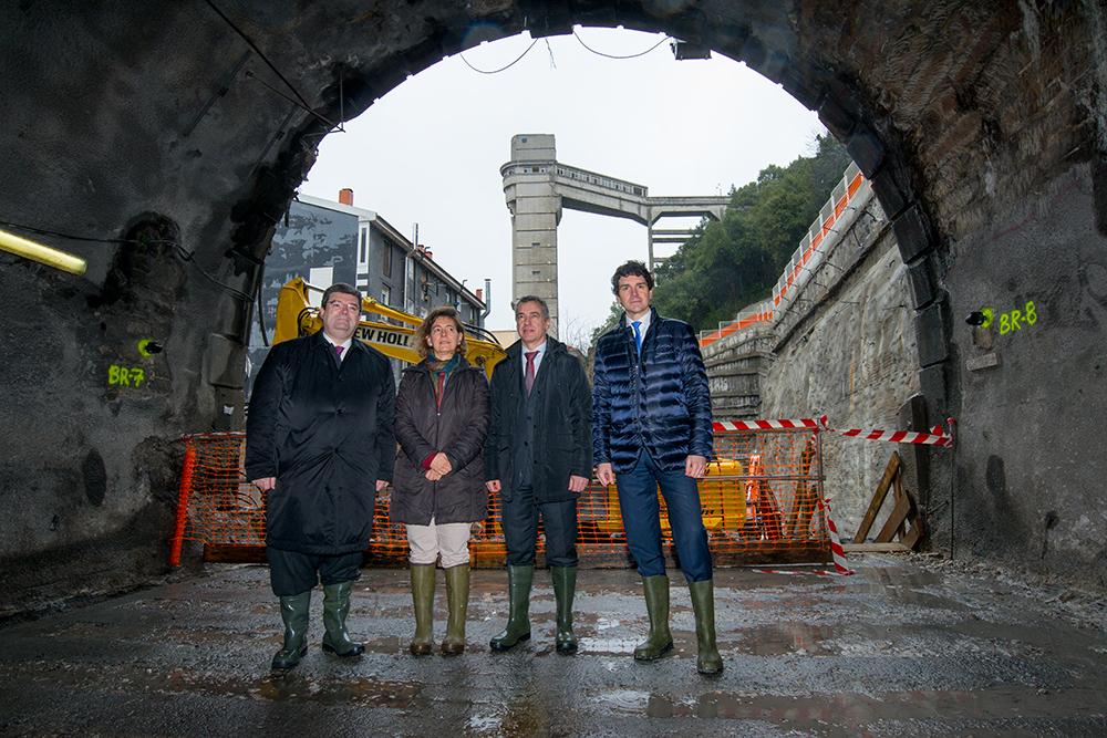 """Lehendakari: """"La Línea 3 refuerza al Metro de Bilbao como un referente internacional de eficacia y modernidad"""""""